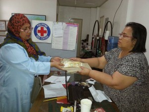 AAI School Clinic Support Sulu,  Nurses Shareen and Pinky Chiong 8-14_1