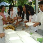 The Little Mayor and Student Council of Camp Crame Elementary raised the funds and organized the feeding of their malnourished classmates, through recycling trash and persistent appeals to their families and neighbors.