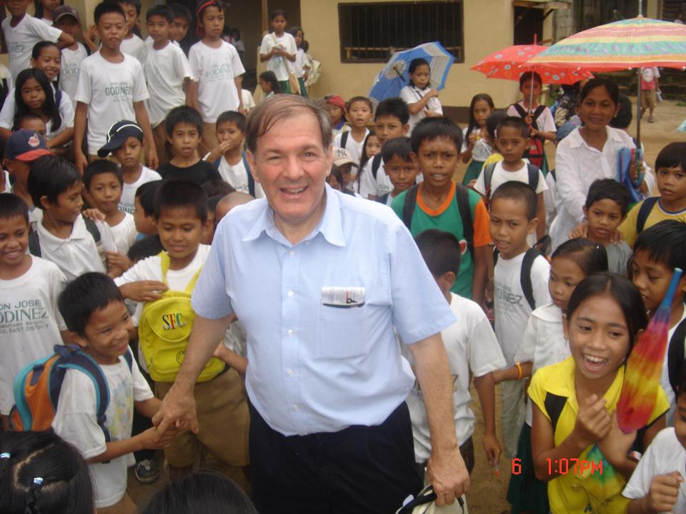 AAI Present Prf.Santoli with students in Philippines