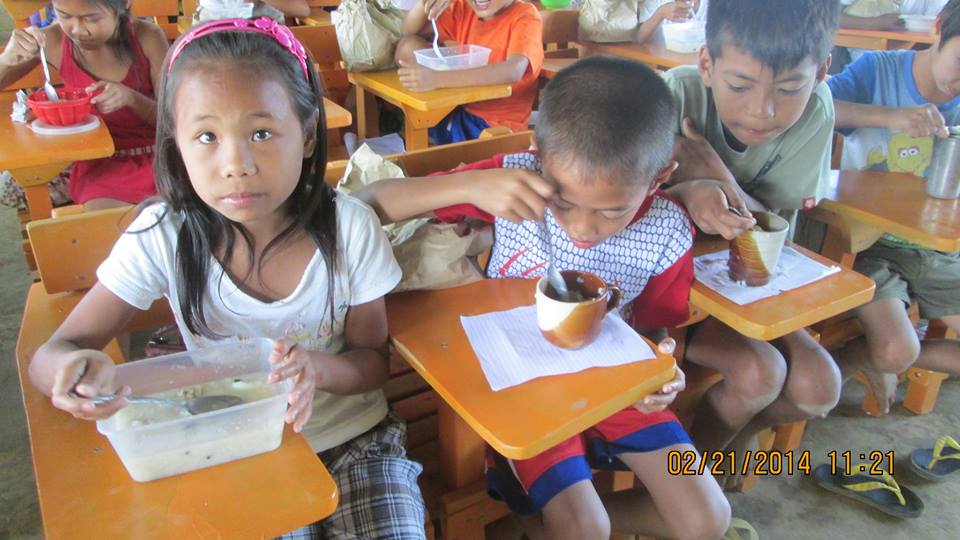 AAI school feeding program Butak ES
