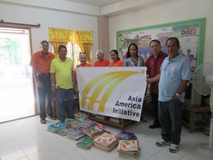 Donated Books - Badiangan National High School, August 2014