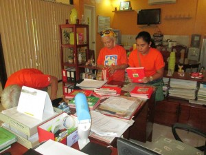 Donated Books - Badiangan Central Elementary School, August 2014