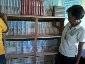 Donated Books - Leyte Vocational Villaba High School, August 2014