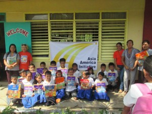 Donated Books - Tina Elementary School, August 2014